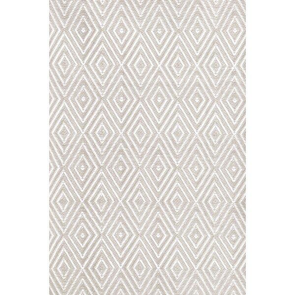 White And Gray Diamond Rug Wayfairca