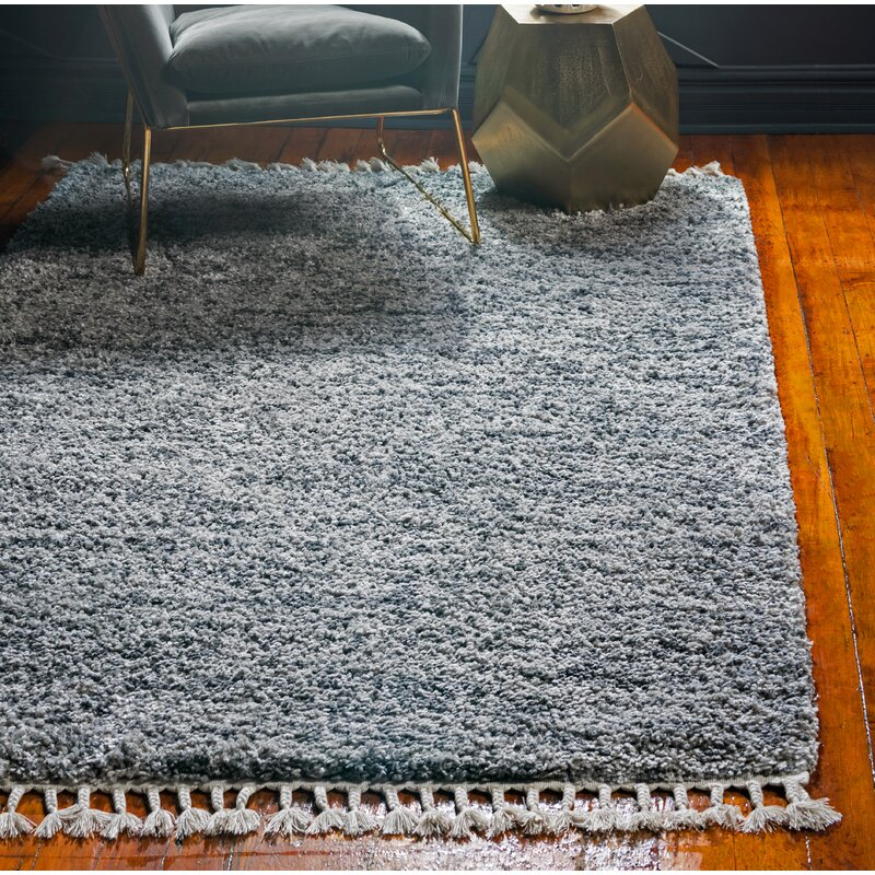 George Oliver Grantham Gray Area Rug Reviews Wayfair