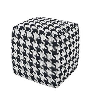 Morecambe Cube Ottoman by Wrought Studio