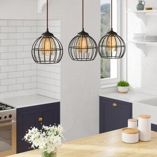Dublin 3-Light Kitchen Island Pendant by Laurel Foundry Modern Farmhouse