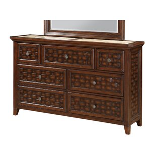 Bayou Breeze Cleveland 7 Drawer Standard ..