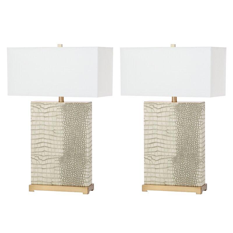 Julieta 71cm Table Lamp Set
