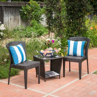 Woolard 3 Piece Conversation Set