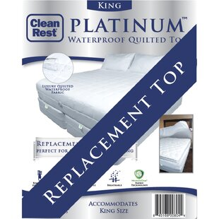 Platinum Top Polyester Mattress Pad by CleanRest Great Reviews