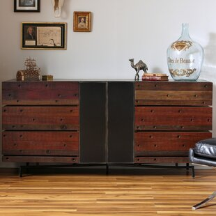 Moore 6 Drawer Double Dresser