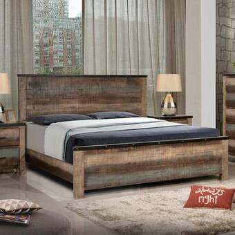 Loon Peak Riddick Platform Bed Reviews Wayfair
