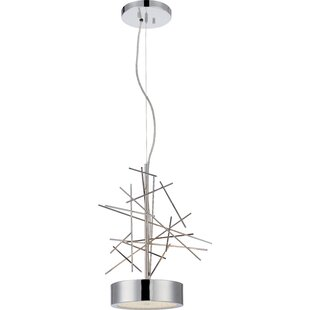 Orren Ellis Badley 2-Light Pendant