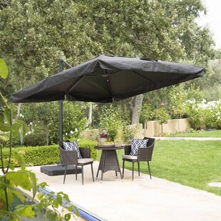 Brayden Studio Beck 10' Square Cantilever Umbrella