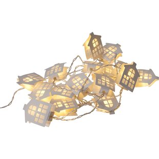 16 White String Lights By The Seasonal Aisle