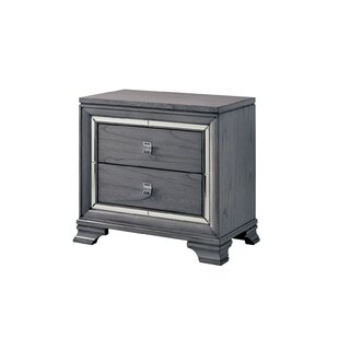 Great Price Bryton 2 Drawer Nightstand by Everly Quinn