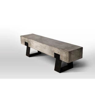 Tremendous David Metal And Concrete Picnic Bench Ncnpc Chair Design For Home Ncnpcorg