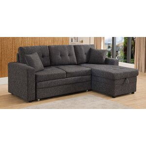 Latitude Run Reider Reversible Sleeper Sectional Ploru Ayuwaner