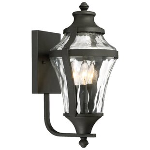 Curcio 3-Light Outdoor Wall Lantern