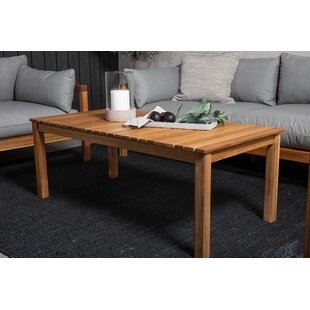 Charvi Wooden Coffee Table By Sol 72 Outdoor