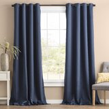 Blackout Thermal Grommet Curtain Panels (Set of 2)
