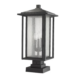 Online Reviews Hungate 3-Light Outdoor Pier Mount Light By Bloomsbury Market