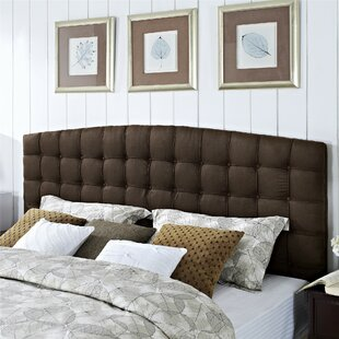 Read Reviews Malvern King Upholstered Panel Headboard by Alcott Hill