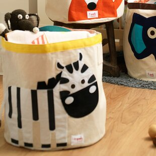 Buy clear Zebra Storage Bin By 3 Sprouts