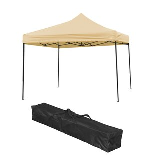 10 Ft. W x 10 Ft. D Pop-Up Canopy by Trademark Innovations