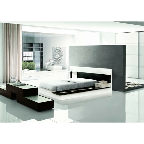 platform bedroom bed cheap infinity set glyma sets co black size king