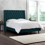 Kleber Upholstered Standard Bed by Charlton Home®