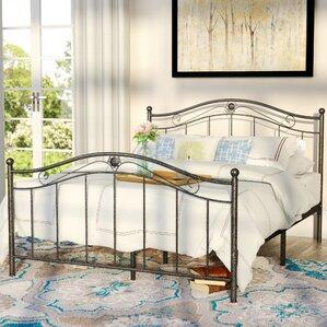 wiedeman platform bed - Iron Twin Bed Frame