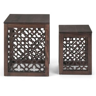 Lourde 2 Piece Nesting Tables