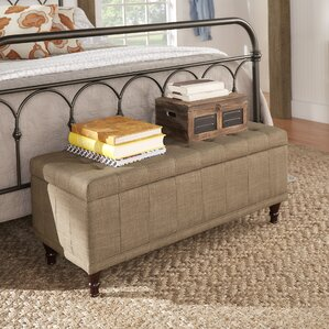 Southampton Upholstered Storage Bench