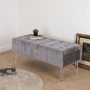 House of Hampton Brynlee Upholstered Storage Bench