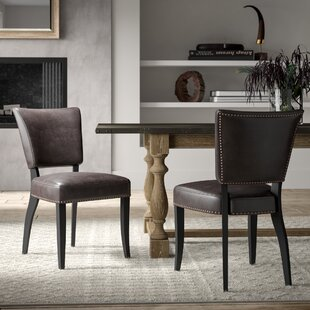 Vicki Upholstered Dining Chairs (Set of 2) Greyleigh