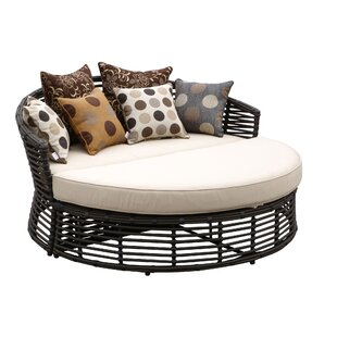 Venice Double Chaise Lounge with Self Welt Cushion by Sunset West
