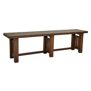 Manzanita Wood Bench by Loon Peak