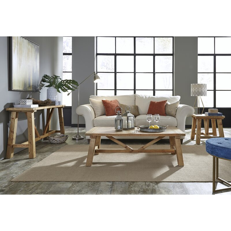 Stambaugh Reclaimed Wood Console Table