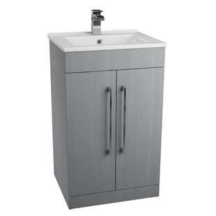 Review Lewes 50cm Free-Standing Vanity Unit Base Only