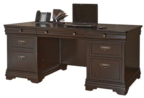 Birch Lane Delaplaine 2 Piece Configurable Office Set Wayfair