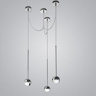 ZANEEN design Convivio 3-Light LED Cluster Pendant