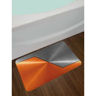 Tapis pour salle de bain: Couleur - Orange | Wayfair.ca