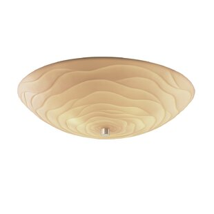 Mistana Thora Round Bowls 6-Light Flush Mount