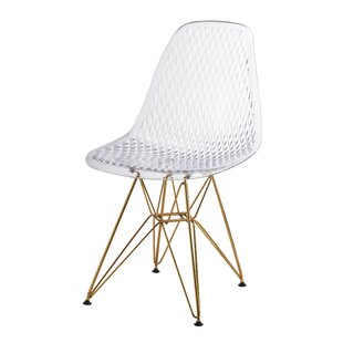 Jeco Inc. Plastic Side Chair (Set of 2)