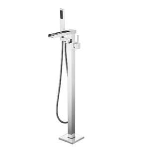 Find for Victoria Double Handle Floor Mounted Freestanding Tub Filler with Hand Shower ByDyconn Faucet
