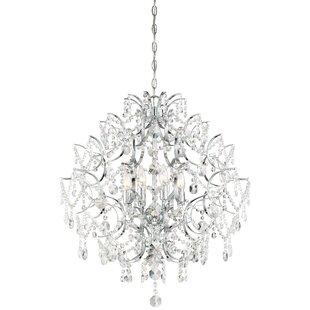 Willa Arlo Interiors Blencoe 8-Light Crystal Chandelier