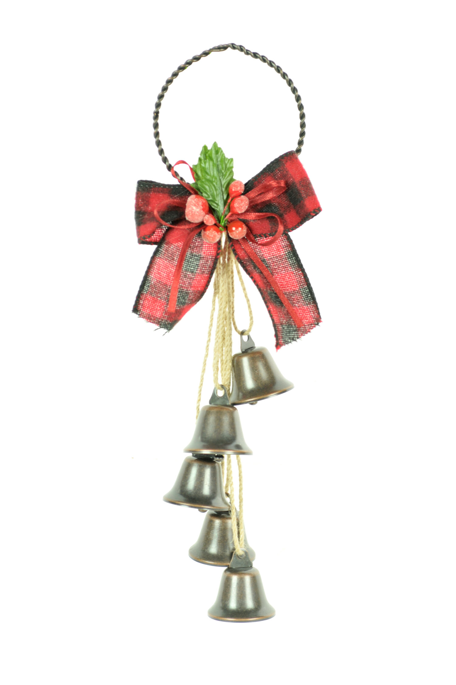 The Holiday Aisle Metal Bells Holiday Shaped Ornament Set Of 3 Wayfair