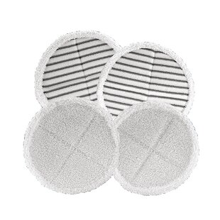 Bissell 4 Piece Mop Pad Replacement Set For SpinWave® Hard Surface Cleaner