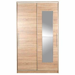 Stets 2 Door Sliding Wardrobe By Mercury Row