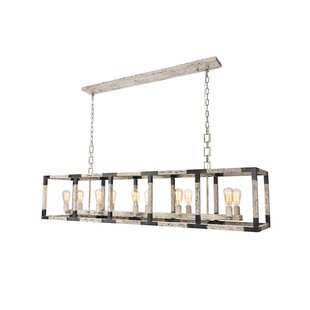 17 Stories Vianey 10-Lights Kitchen Island Pendant