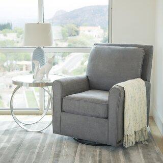 Weddington Glider Armchair by Darby Home Co SKU:DD383569 Check Price