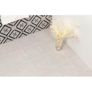 Branwell 9 inch  x 9 inch  Porcelain Field Tile in Bianco