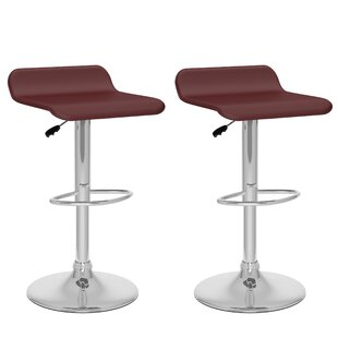 Tanner Adjustable Height Swivel Bar Stool..