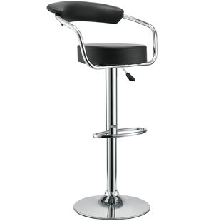 Diner Adjustable Height Swivel Bar Stool ..