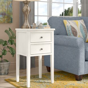 Affordable Erion End Table With Storage by August Grove